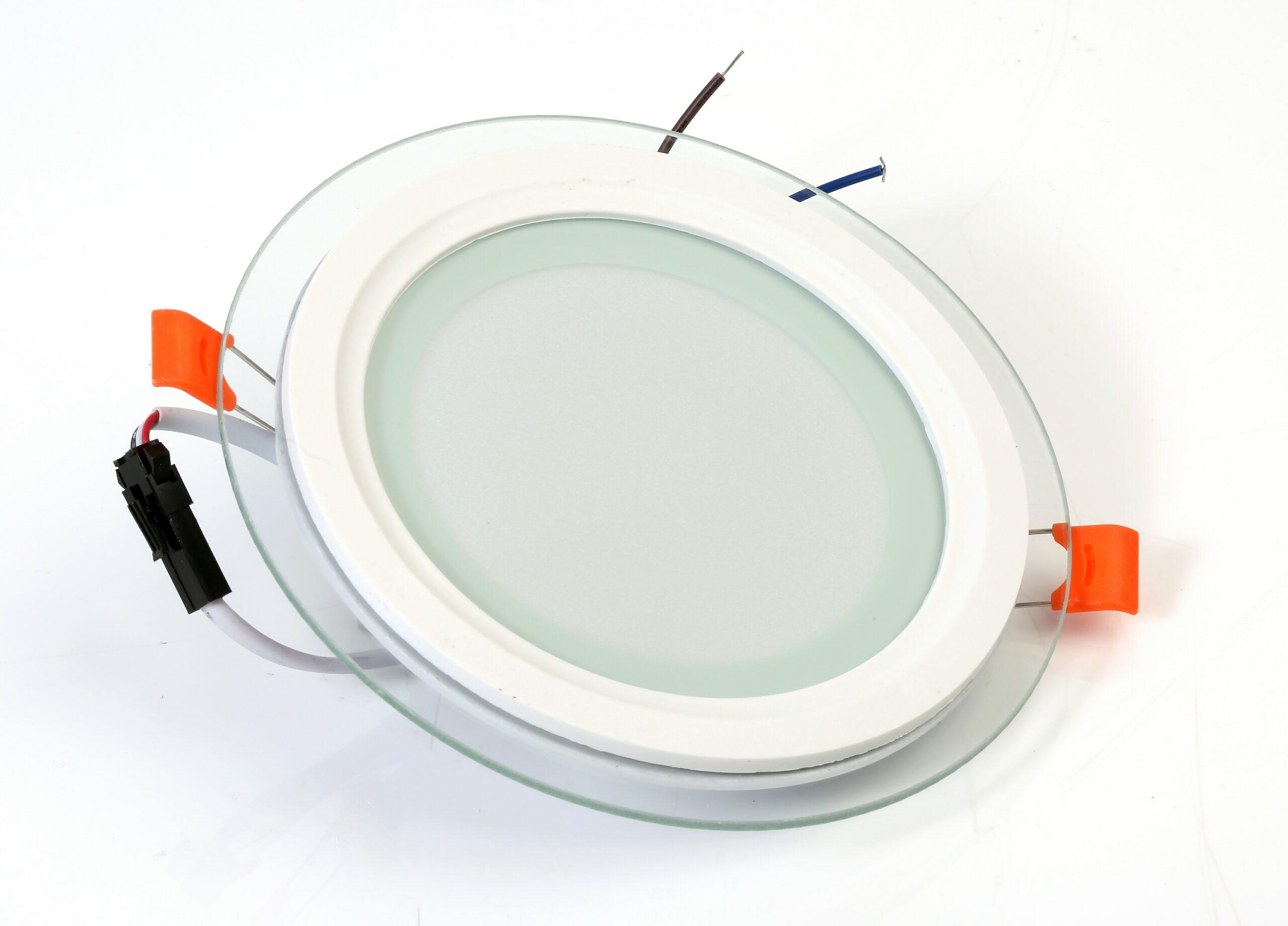 12W LED GLASS PANEL 3 COLOR CHANGE
