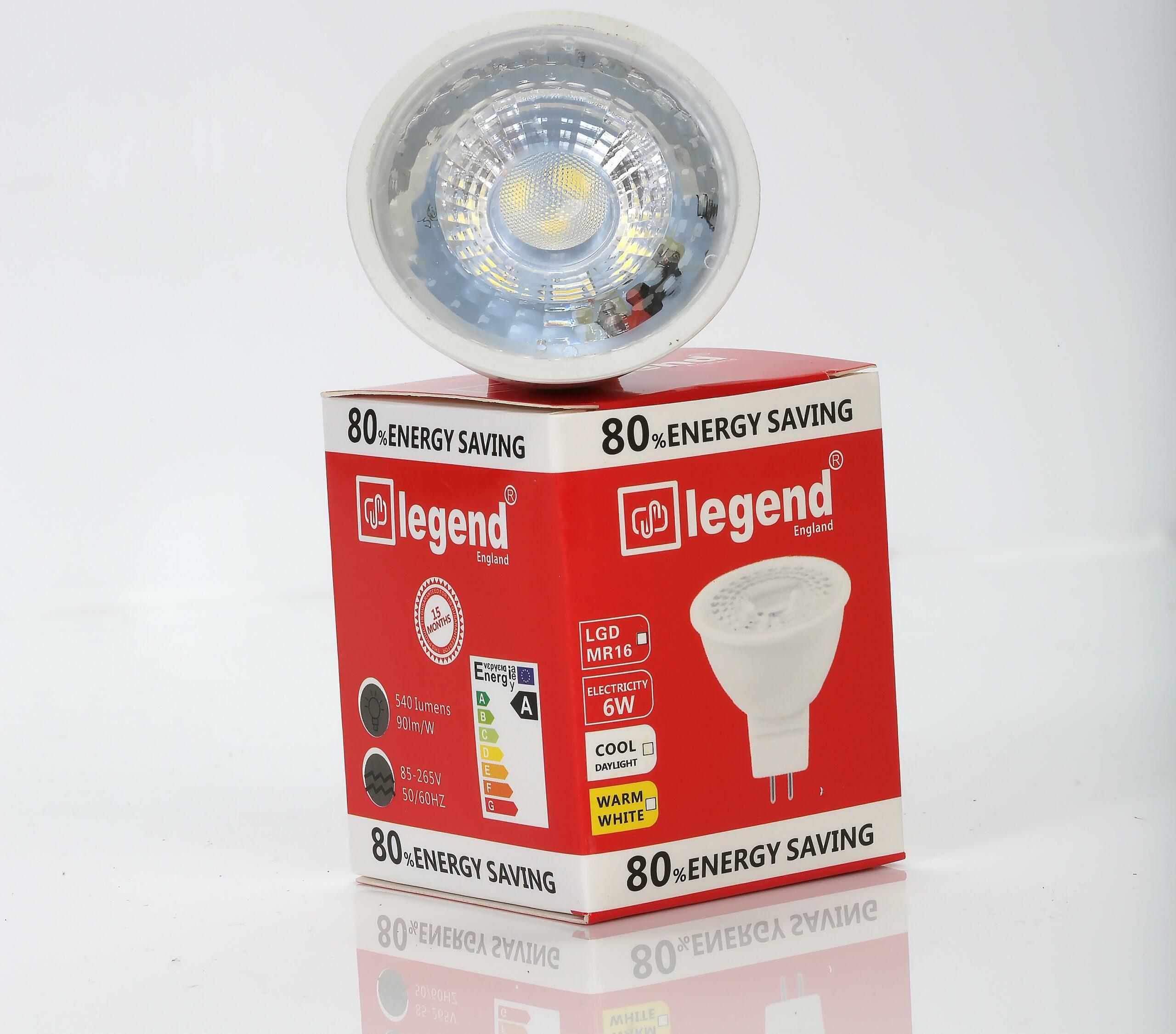MR16-5.3 LED 6WATTS WHITE